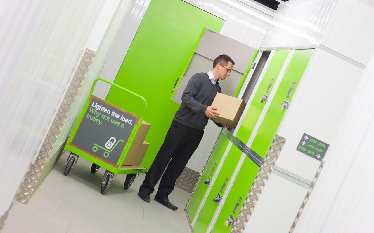 Personal storage lockers Cornwall
