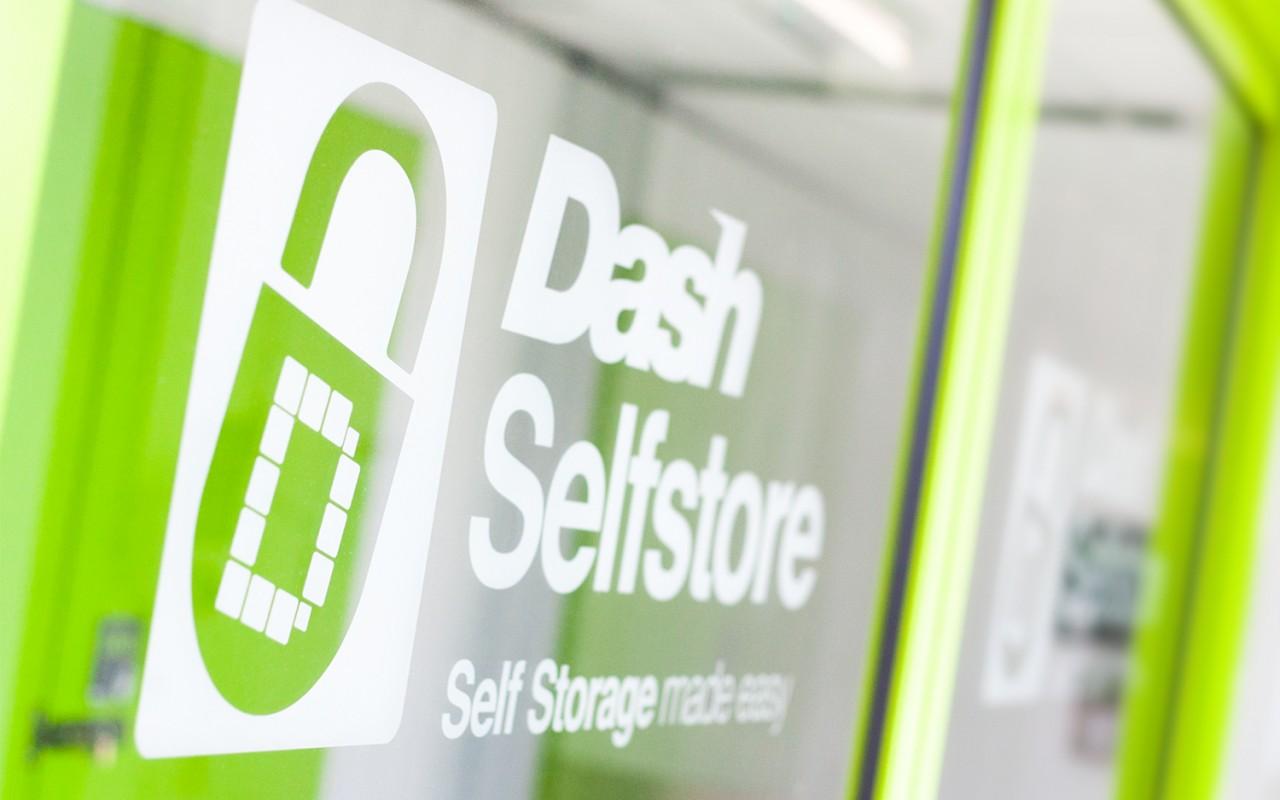 Entrance at Dash Self Storage redruth Cornwall
